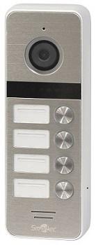 Связь с 4 абонентами с новых вызывных панелей видеодомофона ST-DS546C-SL